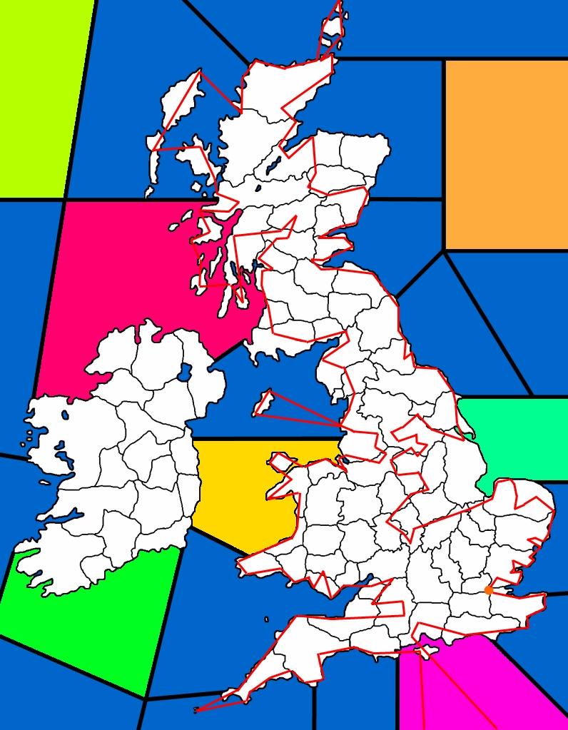 british isles route