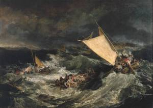 Turner, The Shipwreck